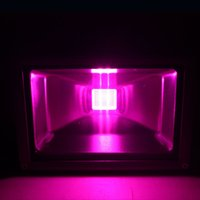 Wholesale Garden Supply W Blue nm Red nm Hydroponic Plant Flood LED Grow Lights sportlighht led blubs floodlight Outdoor led lighting