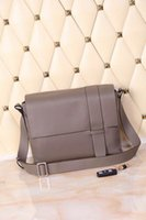 Wholesale men s genuine leather messenger bag good price