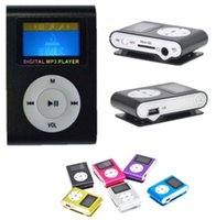 Wholesale New Colorful GB Slim Mp3 Player With Micro TF SD Card Slot quot LCD Screen Recorder PC