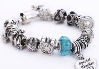 Wholesale Fashion DIY Jewelry Accessories European Beads Fits Padora Style Charm Bracelets Women Gift