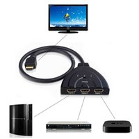 Wholesale P Port HDMI Switch Splitter Switcher d Pigtail HUB Box Cable LCD HDTV