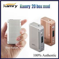 Wholesale Authentic Kamry Box Mod Kit Kamry20 W temperature protection Electronic Cigarette Kit for dry herb vaporizer kayfun