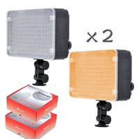 Wholesale 2pcs Aputure Amaran AL LED Video Light panel AL198 LED Light for DSLRs