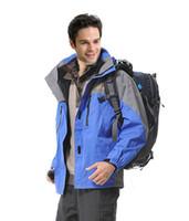 Wholesale Outdoor Climbing Clothes Mountaineer Ski Suits Coats Winter Waterproof Men s Skiing Jacket Size S XL