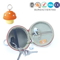 Wholesale Small mushrooms change Wallets Creative cute little mini bag zero purse small purse fashion Korean explosion models