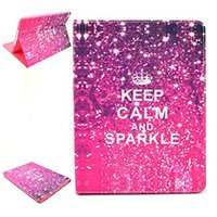 Yes sparkly ipad cases - FOR iPad Air Case Slim Flip PU Leather Smart Case Cover Auto Sleep Wake Feature Stand Holster Keep Calm And Sparkly