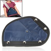 Wholesale New NYLON CAR SAFETY COVER SEATBELT CLIP POSITIONER ADJUSTER FOR CHILDREN CHILD BLUE