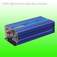 Wholesale 1500W Off Grid Pure Sine Wave Inverter with DC12V V V Input Wind Generator Inverter Years Warranty