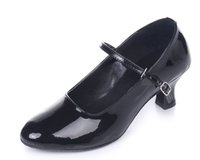 Wholesale GB Adult Women Latin dance shoes suede leather bottom with practice dance shoes Size