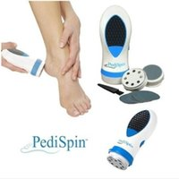 Wholesale Foot Care Pedi Spin Electric Removers Calluses Pedicure Dead Dry Skin Portable Double Speed Foot Care Electric Skin Remover