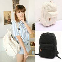 canvas backpacks - Fashion Cute Girls Lace Canvas Backpack Bag Schoolbag Bookbag Anne