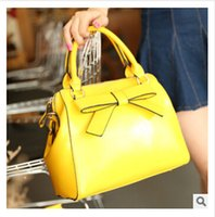 Totes pu leather - brand bags new fashion imitation leather PU handbags bowknot bags Vintage messenger bag evening bag candy bag statement bags L000397