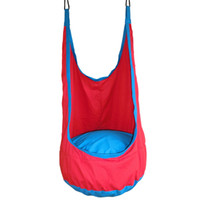 Wholesale 1 Pc Red Pod Swing Baby Swing Children Hammock Kids Swing Chair Indoor Outdoor Hanging Chair order lt no tracking