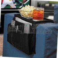 Wholesale 2pcs Pockets Sofa handrail Couch armrest Arm Rest Organizer Remote Control Holder bag On TV Sofa corrimao Braco Resto