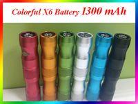 lava tube - X6 Battery mAh E Cigaratte Variable Voltage battery Lava Tube E Cigaratte battery for ego thread ce4 ce5 mini protank atomizers