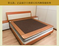 Wholesale mattress germanium stone mattress dualdual control stone tourmaline far infrared health physiotherapy mattress mattress byanshi
