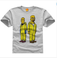 bad services - Breaking bad simpsons DIY custom men and women short sleeved T shirt shirt class service four
