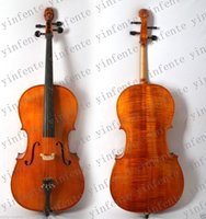 Wholesale New Cello Solid wood High quality Powerful Sound Man Head stock