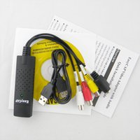 Wholesale Easycap USB Video TV DVD VHS Audio Capture Adapter USB DVR blister packing