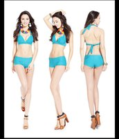 Wholesale 2016 new beach party bikini two piece swimsuit ladies charm fit