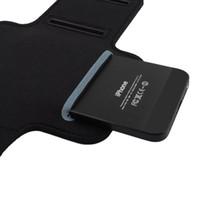 Gros-Purple Sport Armband Gym Courir Jog Case Holder Arm Skin pour iPhone 6 Samsung Galaxy S3 S4 Plz Remarque Non Choix de couleurs