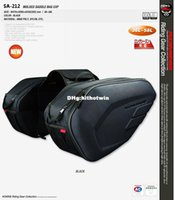 Wholesale 1 Pair Komine SA saddle bags motorcycle tail bag luggage bag saddlebags to Russian Japan Korea Singapore