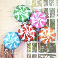 Wholesale 20pcs Candy Color Foil Balloons Birthday Party Decoration Balloon Wedding Baloons inflatable children Party balloons inch