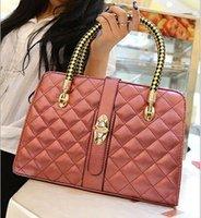 handbag low price - Hot new fashion women handbags grid luxury single shoulder bag leather brand handbag high quality low price
