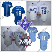 baby ben - Ben Zobrist Jersey Workd Series Kansas City Royals Jerseys KC Baby Blue White Grey