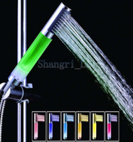 Wholesale RGB Colors Durable LED Light Shower Head Water Bathroom Sprinkler hot sale