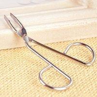 best beauty supply hair - Stainless Steel Eyebrow Tweezer Folder Beauty Supplies Best Hair Removal Scissors Clamp Clipper Beauty Makeup Eyebrow Tools