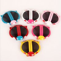 beatles babies - Designer Sunglasses For Children Sunblock Sunglasses Fashion Korean Cute Beatles Colorful Baby Outdoor Sport Sunglass MC
