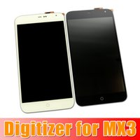 Wholesale Brand New Original LCD Display Screen Touch Digitizer Screen Completed For Meizu MX3 GB GB GB Black and White Churchill