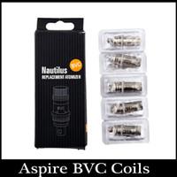 Cheap Aspire Nautilus mini BVC Coil bottom vertical coil 1.6ohm 1.8ohm 2.1ohm fit Nautilus Nautilus mini atomizer vs aspire bdc coils