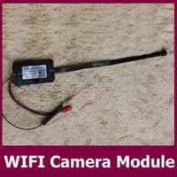 Wholesale Ccd Video Camera Module - Temper-proof CCD Video Camera Wireless WIFI Mini Camera Module H.264 CCTV Camera Home Security Full HD 1080P Mini DV
