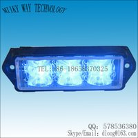 ambulance emergency lights - VS Y Super bright LED Grill Lights Police ambulance emergency lights Blue LED surface mount Strobe Warning Flashing Light