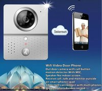 Wholesale 2 G Wireless Remote Video Doorphone Wifi Connect Visual Intercom Doorbell Night Vision Support Android Mobile