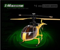 Wholesale WLtoys V915 Lama CH High Simulation RC Helicopter RTF GHz Axis Gyro Internal High Performance Servo Steering Safety