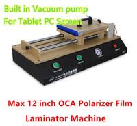 air max pump - TBK Built In Vacuum Pump Max inch OCA Polarizer Film Laminator Machine For iphone Ipad air Tablet PC Universal