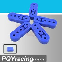 Wholesale J2 Racing Store Universal pc Blue Polyurethane Exhaust Muffler HANGER Lengthened PQY8953