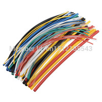 Wholesale 70 Flame Retardant Durable Color Assorted Colors Ratio Polyolefin Heat Shrink Tubing Tube Kits