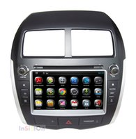 Wholesale Pure Android MITSUBISHI ASX CITROEN C4 PEUGEOT Car DVD GPS Radio Capacitive Screen Video Bluetooth CANBUS