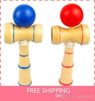 Wholesale Kendama Ball Game ball skills Funny Japanese Traditional Wood Game Toy Kendama Ball Education Gift New A10 B148