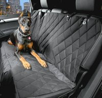 Wholesale Pet Car Seat Cover With Seat Anchors for Cars Trucks Suv s and Vehicles WaterProof NonSlip Backing