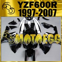aftermarket plastics - Motoegg Aftermarket Fairings For Yamaha YZF600R YZF R YZF R Black White Y60M18 Free Gifts