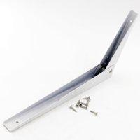 iron shelf bracket - Corner Bracket x x mm Iron White Shelf Bracket Inch Triangle Shelf Support