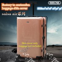 Wholesale Protective Skin Cover Protector CLEAR for RIMOWA Salsa Air Multiwheel SIZE quot quot Case custom