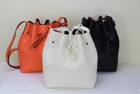Wholesale 2015 Fashion European Women Handbag Genuine Leather handbags Women Crossbody bag Single shoulder bag Bucket Bag Chain Bag AAA
