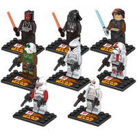 Wholesale 2015 New Star Wars Building Blocks Sets styles Minifigure DIY Bricks Toys Dath Yoda with package box Super Hero The Avengers V15042106