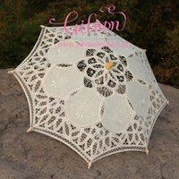 baby parasols - Baby Shower Decoration Umbrella Kid s lace parasol Photo studio props